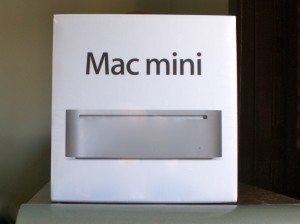 Caixa do Mac Mini